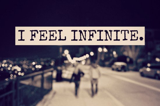 I Feel Infinite Art Print