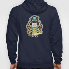 Time for Adventure with Finn, Jake, BMO, and Lady Rainicorn Hoody