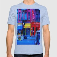 Primary Colors Mens Fitted Tee Athletic Blue SMALL