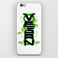 Vertical Vegan iPhone & iPod Skin