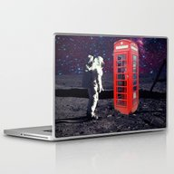 Laptop & iPad Skin featuring Phone Box by Cs025