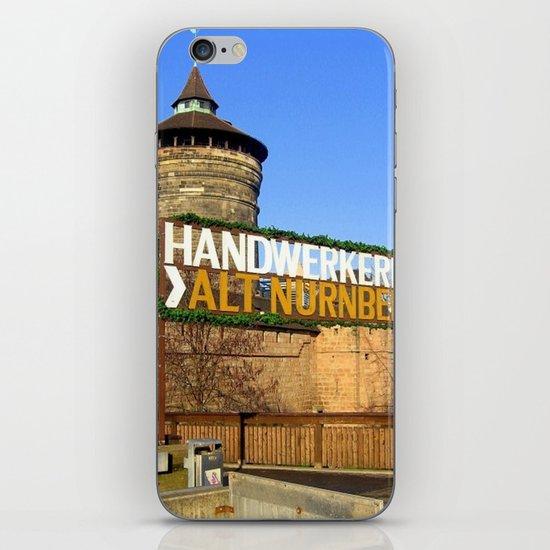 Handwerkerhof Alt Nurmeberg iPhone & iPod Skin