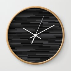 Black Estival Mirage Wall Clock