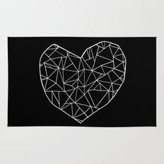 Abstract Heart   Rug
