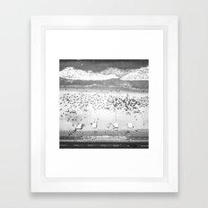 TOP IPANEMA B&W Framed Art Print