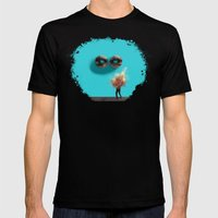 Stendhal Syndrome Mens Fitted Tee Black SMALL