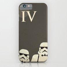 Star Wars Minimal Movie Poster iPhone 6 Slim Case