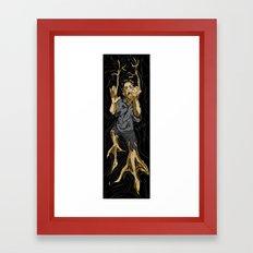 Fight the Evolution Framed Art Print