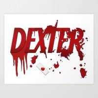 Dexter - fan art Art Print