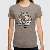 Tauntaunooki Womens Fitted Tee Tri-Coffee SMALL