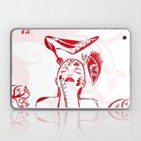 Abstract Woman Laptop & iPad Skin