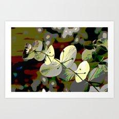 Bright Leaf Art Print
