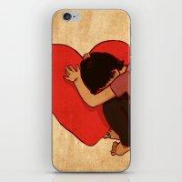 Silence Of The Heart iPhone & iPod Skin