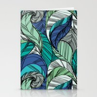 Striped_Feather_Cool Stationery Cards