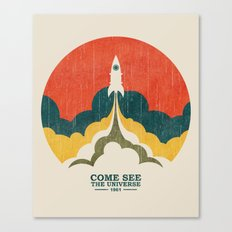 Come See The Universe Canvas Print