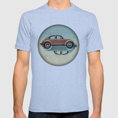 Vw  Ying And Yang Mens Fitted Tee Athletic Blue SMALL