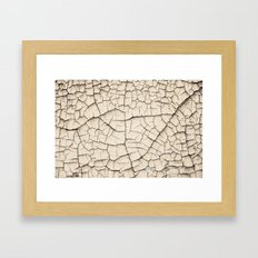 wrinkles Framed Art Print