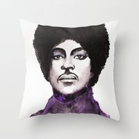 The Prince Throw Pillow