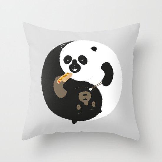 Yin-Yank Throw Pillow