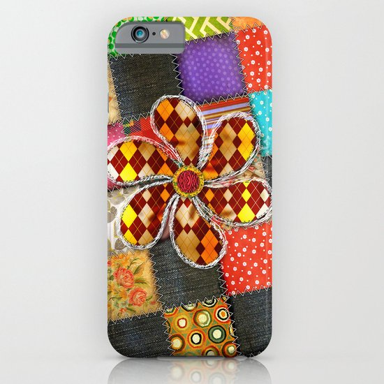 Lady Patchwork (Bulgarian Love) iPhone & iPod Case