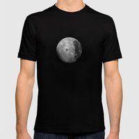 moons Mens Fitted Tee Black SMALL