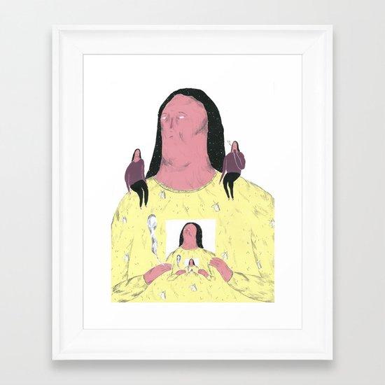 droste effet Framed Art Print