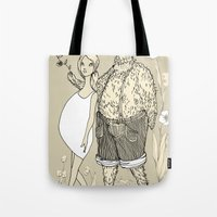 Beast And Beauty Tote Bag