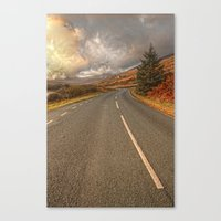 Road Of Colours Canvas Print