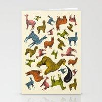 camelids Stationery Cards
