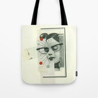 Girls Who Wear Glasses Tote Bag