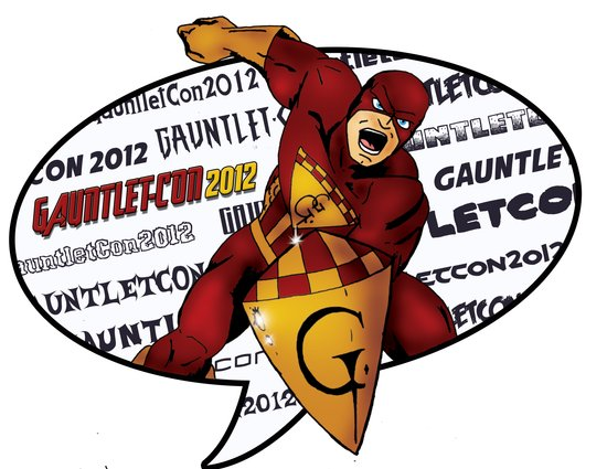 Gauntlet-Con Promotional Image Art Print