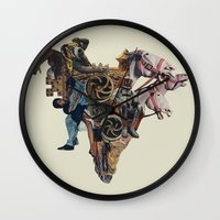 Ashes In The Arteries Wall Clock