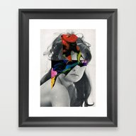 Woman 4/30 (2015) Framed Art Print