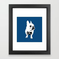 George The Cutest French… Framed Art Print