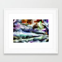 Wild Is The Sea Framed Art Print