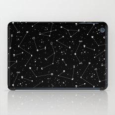 Constellations (Black) iPad Case