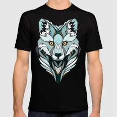 Little Polar Fox Mens Fitted Tee Black SMALL