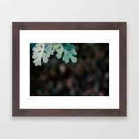 Greens and Browns Framed Art Print