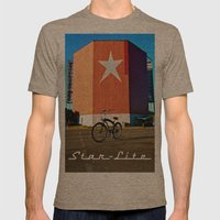 Nostalgic View Mens Fitted Tee Tri-Coffee SMALL