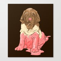 Neapolitan Mastiff Canvas Print
