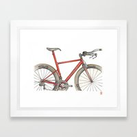 English TT Framed Art Print