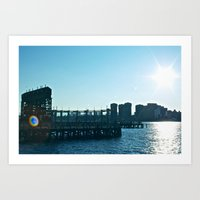 Long Island Sunset Art Print