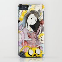 iPod Touch Cases featuring AT : The Gang by Net's Works