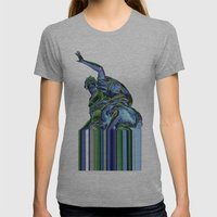 Goddess of Versailles Womens Fitted Tee Athletic Grey SMALL