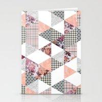 Pink Patterns Stationery Cards