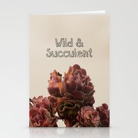 Wild & Succulent Stationery Cards