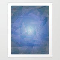 Lagoon, Depth & Light Art Print