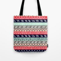 Pattern TRE Tote Bag