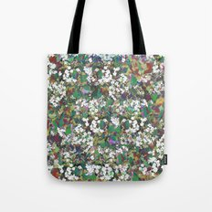 Hawthorn Digital Distortion Tote Bag