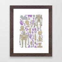 ROBOTIC / ORGANIC  Framed Art Print